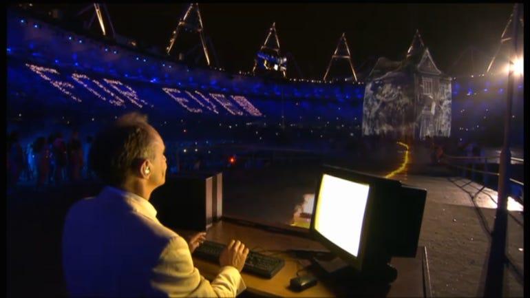 Sir Tim Berners-Lee at London 2012 Olympics
