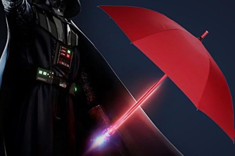 Lightsaber Umbrella LED (around $25)