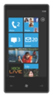 Image Gallery: Windows Phone 7 on a device