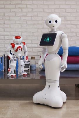 Nao and Pepper robots