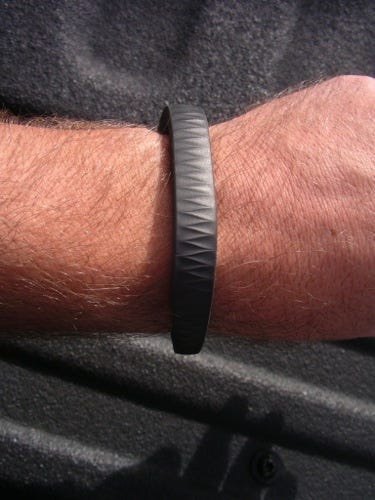 The new UP looks a lot like the old one, it's stylish and not as large as the Fuelband