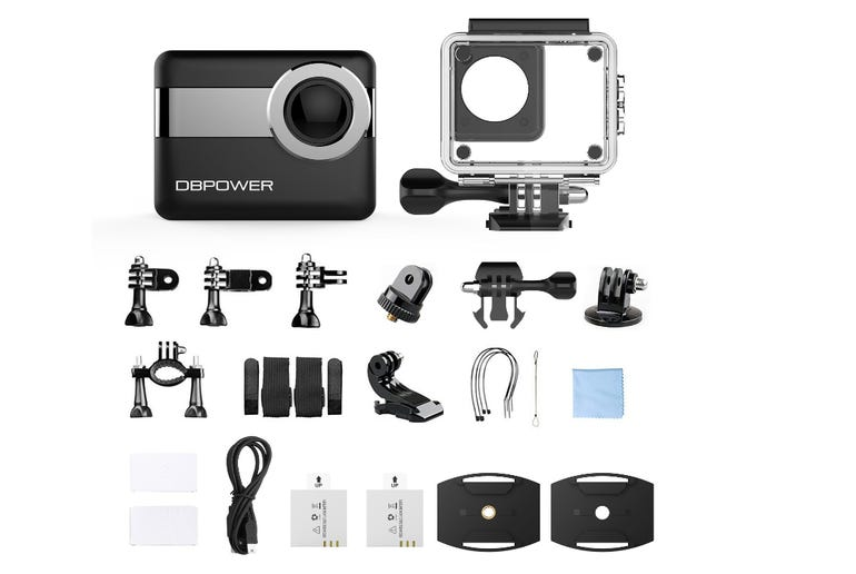 Hands on with the DBPower 4K camera An affordable waterproof HD action cam ZDNet