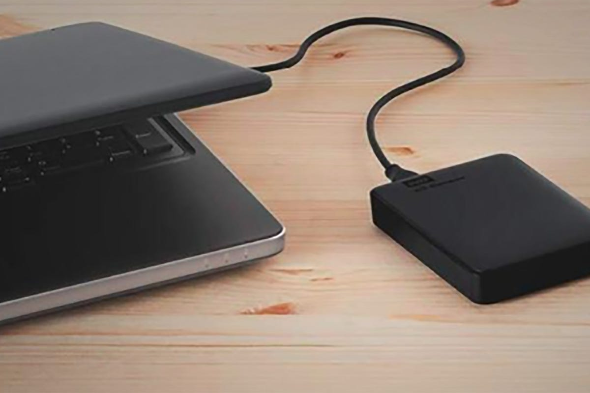 Western Digital 2TB Elements Portable External Hard Drive