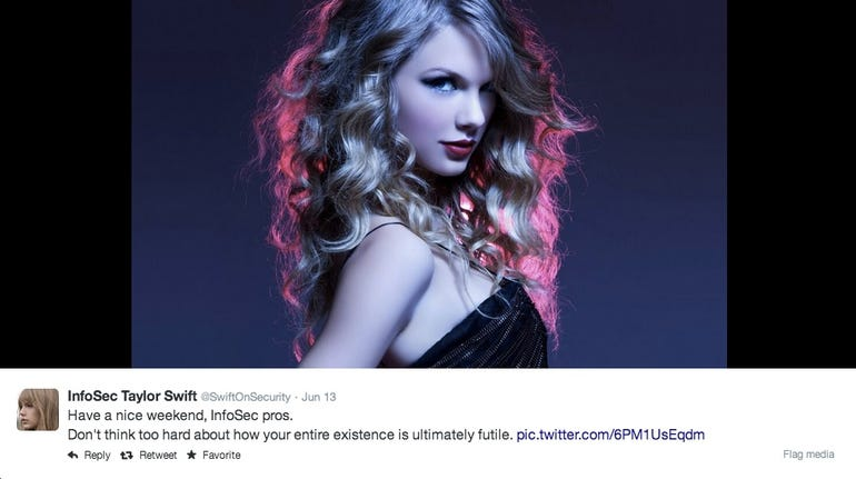 Infosec Taylor Swift on Security