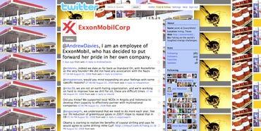 Exxon Mobil on Twitter