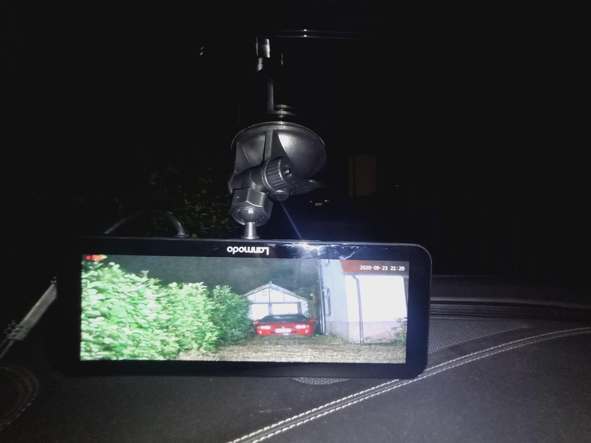 Lanmodo Vast Pro night vision camera good vision enhancements in the dark zdnet