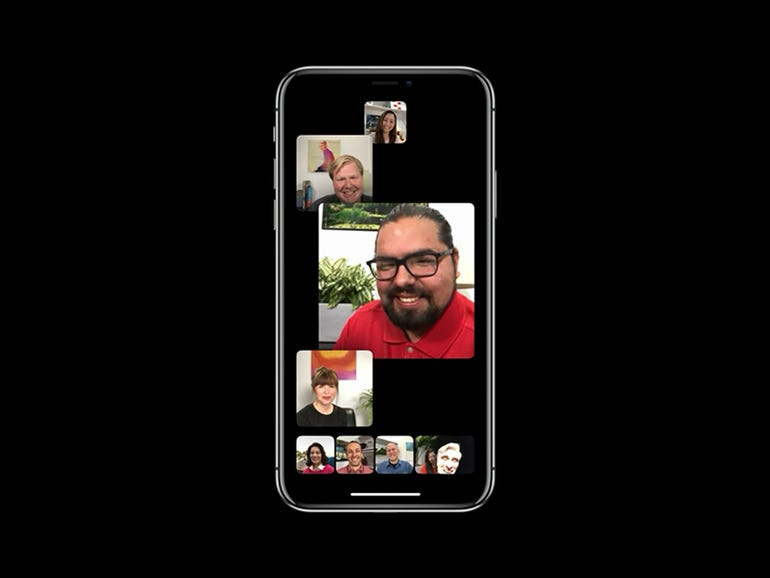 iOS 12: Grouped FaceTime calls