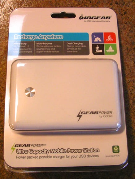 IOGEAR Ultra Capacity Mobile Power Station retail package