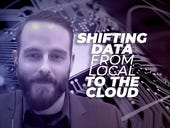 Shifting data from local to the cloud