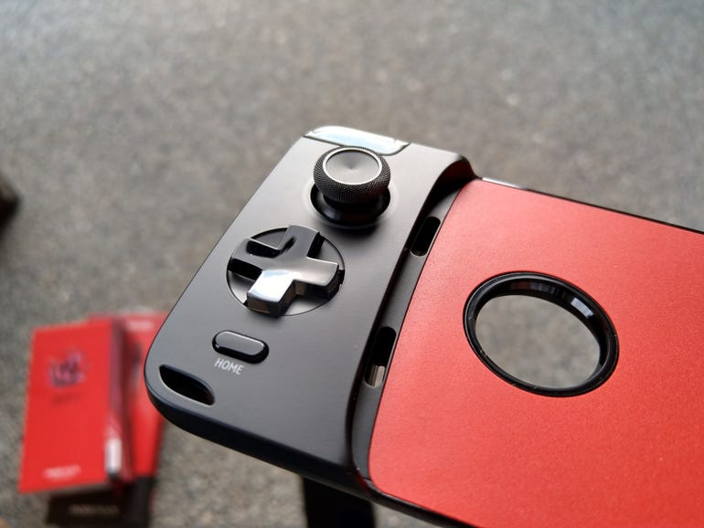 Left side of the Gamepad