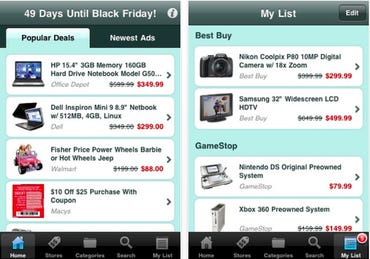 TGI Black Friday 2011 iOS app