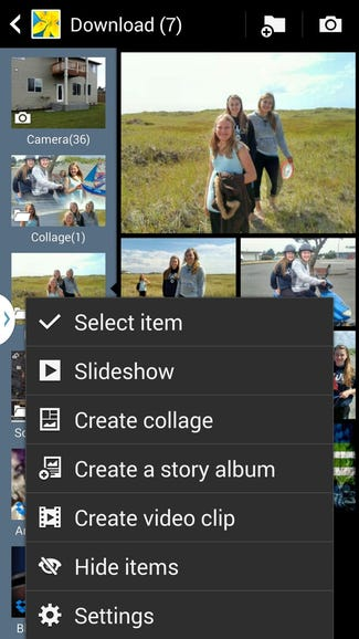 Fun features in the Galaxy Note 3 Gallery