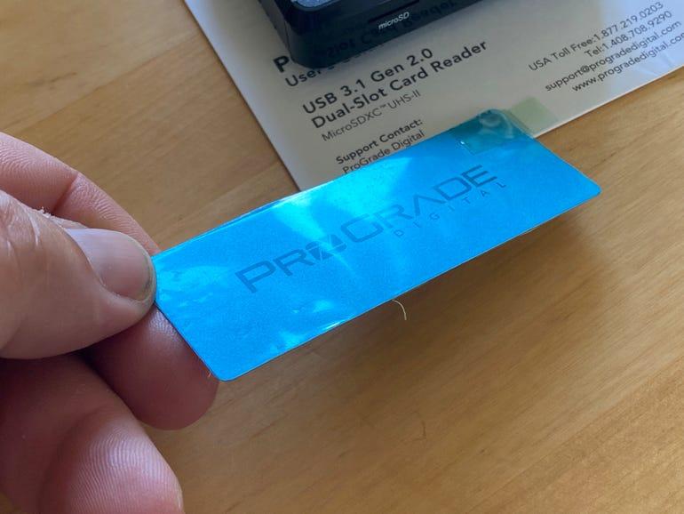 ProGrade Digital dual-slot microSD card reader