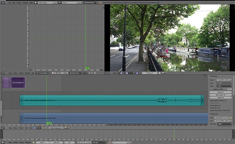 blender-video-editor