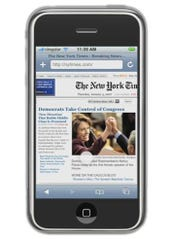iPhone New York Times