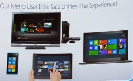 Microsoft COO Kevin Turner argues that Windows 8's Metro interface will make life easier for those using Windows Phones and Xboxes.