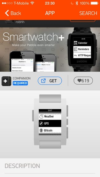 Smartwatch+ is the most popular Pebble app