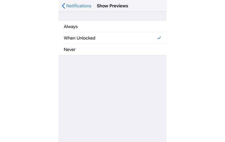 Notifications make your information available to all