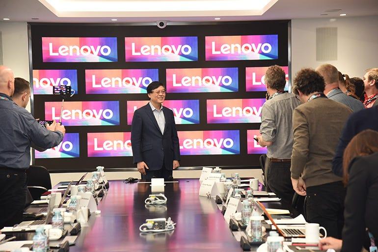 Q&A with Lenovo's CEO