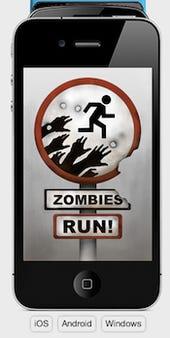 zombies run screen