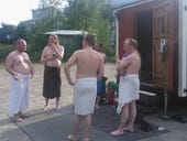 Inside the travelling sauna that wants to help ex-Nokians build their own start-ups