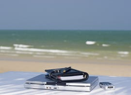Office at the beach