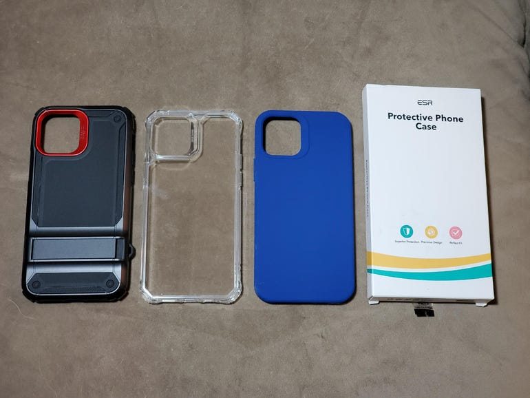 ESR cases for the Apple iPhone 12
