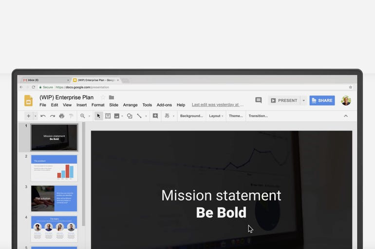 Integrations with other G Suite apps