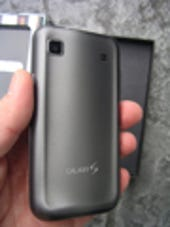 Image Gallery: Back of the Galaxy S 4G