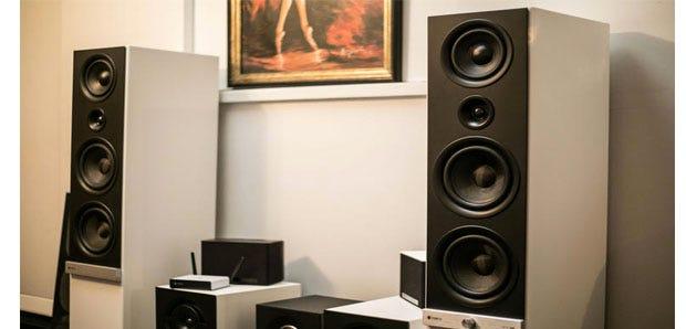 Raumfeld multiroom speakers