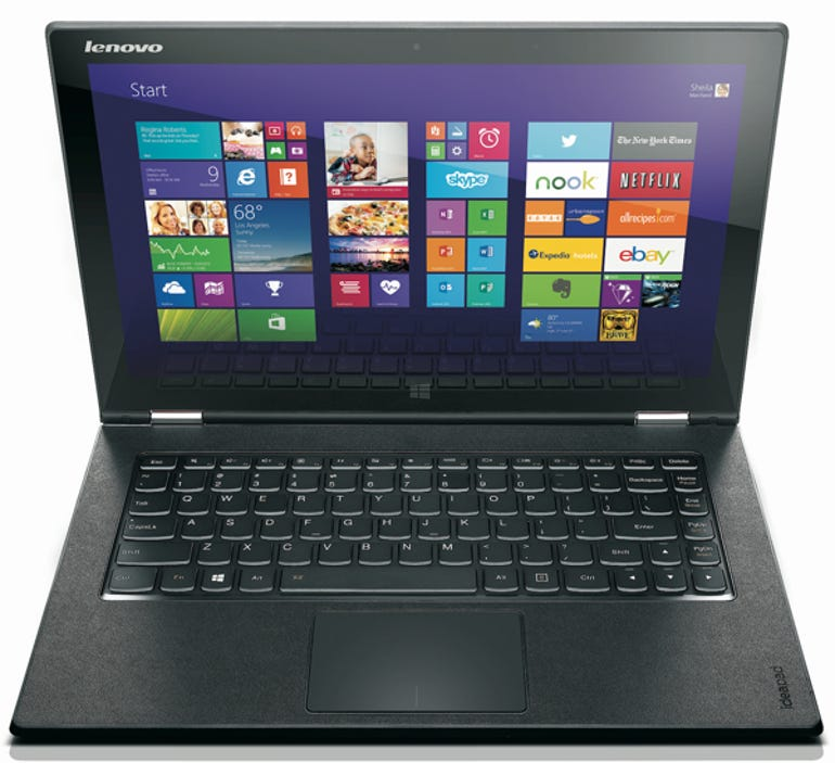 Yoga 2 Pro laptop mode