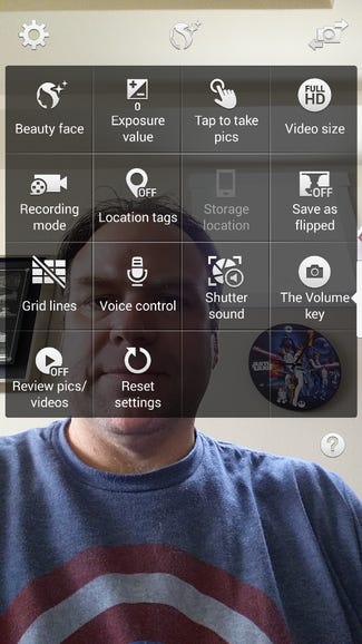 Several options exist for the front facing camera