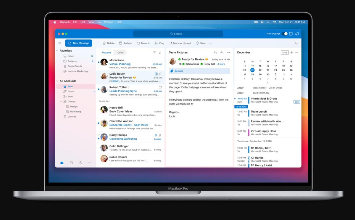 Microsoft déploie des applications natives Microsoft365 pour les MacM1
