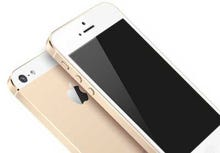 Will Apple sip from a champagne-gold iPhone 5S? (images)