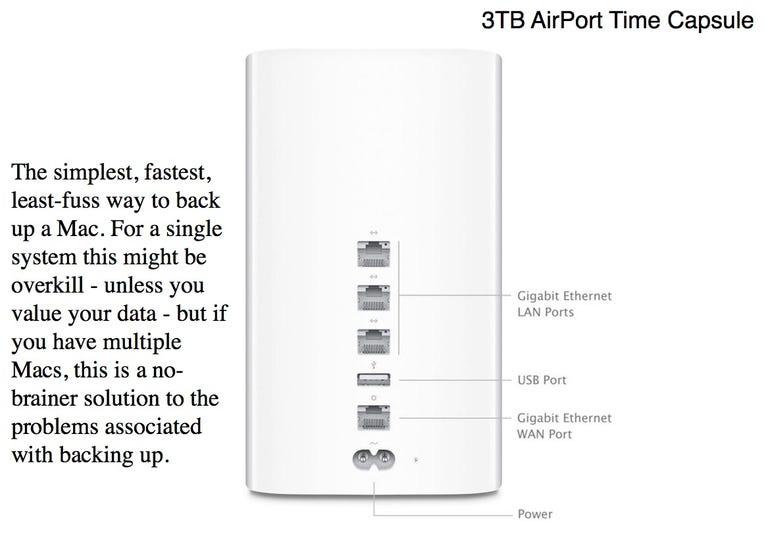 3TB AirPort Time Capsule