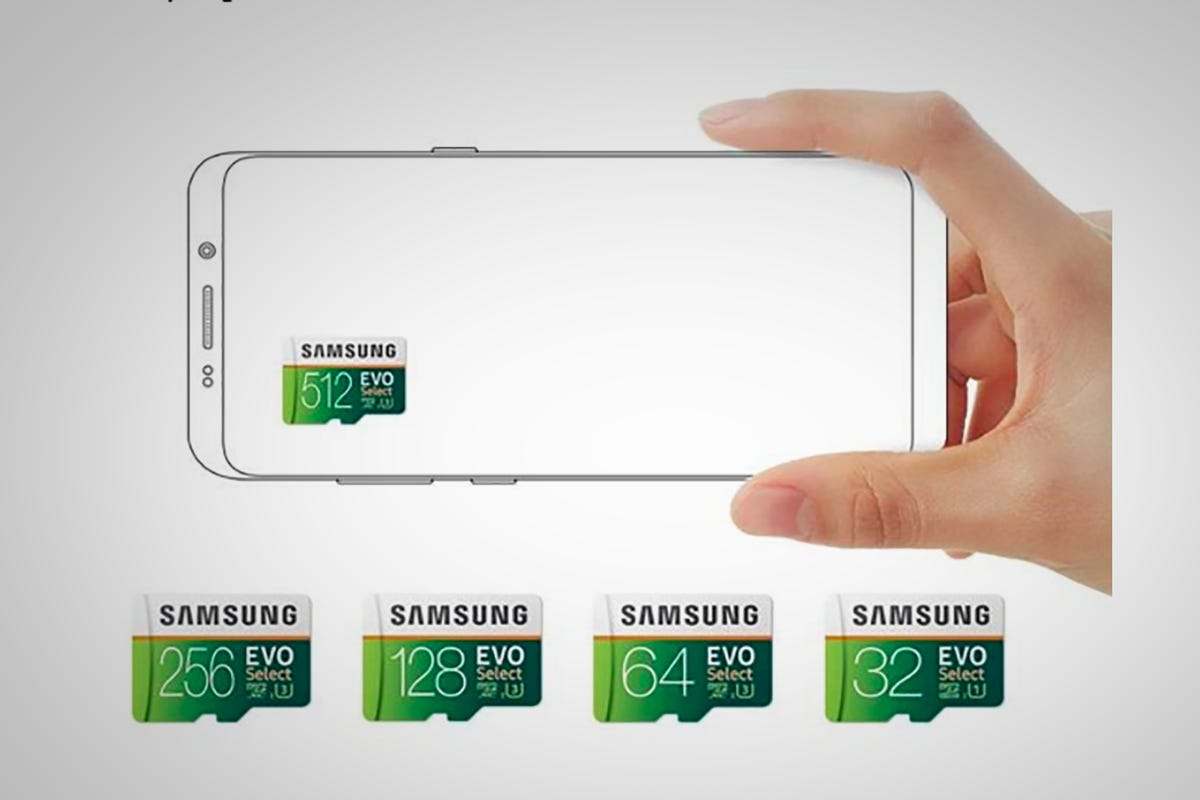 Samsung 256GB EVO microSD card
