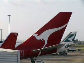 Qantas tail
