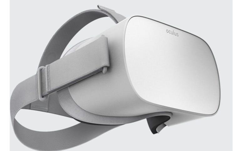 Oculus Go virtual reality headset