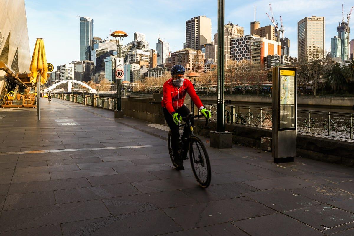 cyclist melbourne