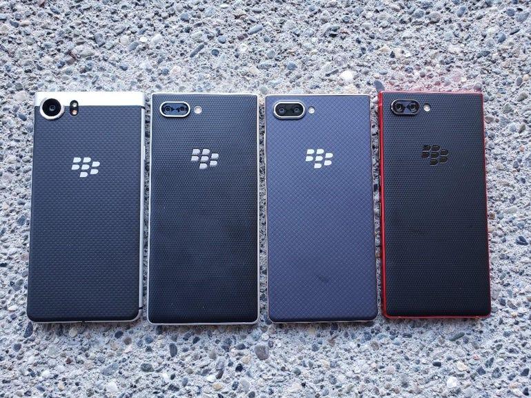BlackBerry KeyONE, KEY2, KEY2 LE, and Red KEY2