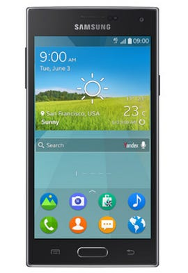 The Samsung Z, the company's first Tizen phone