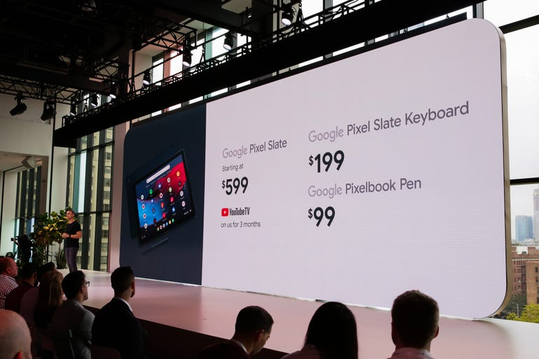 Pixel Slate: Pricing and availability