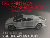 I 3D printed a Tesla Cybertruck because...why not?