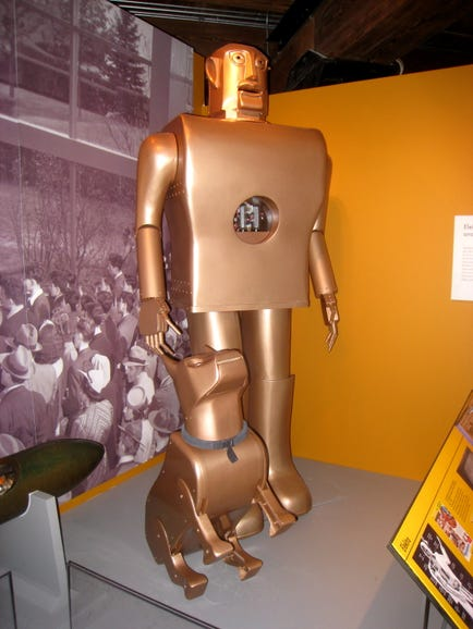 Elektro, Westinghouse's Moto-Man
