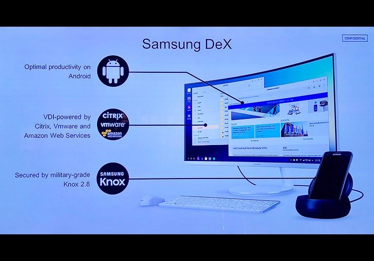 Samsung DeX enterprise features