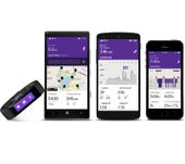 Microsoft Health service launches across mobile platforms, Microsoft Band available for $199