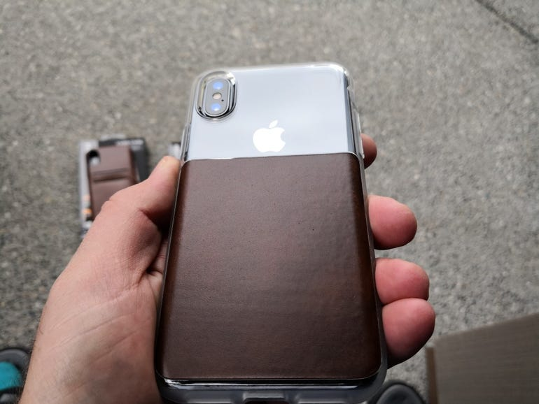 Another view of the Clear Case back