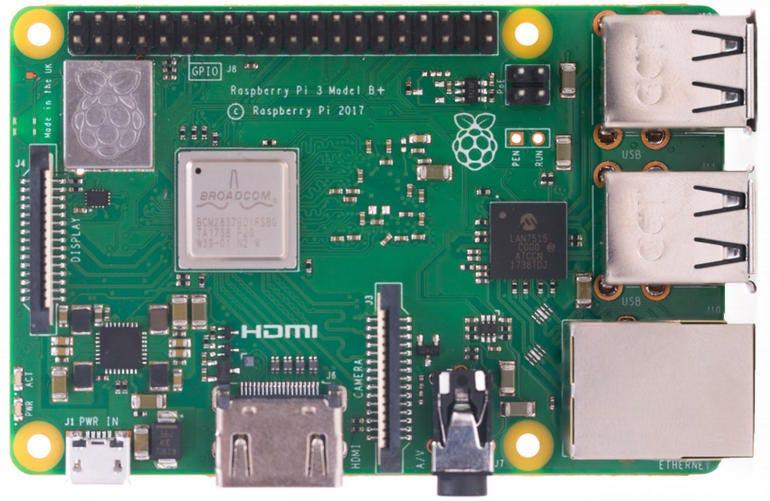 March 2018 - Raspberry Pi 3 Model B+