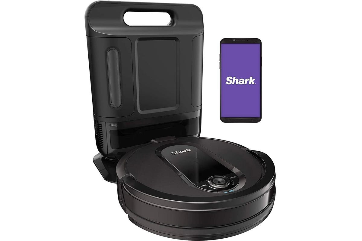 Shark IQ Self-Cleaning, Self-Emptying Robot Vacuum RV1001AE