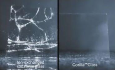 Soda lime glass compared to Gorilla Glass - Jason O'Grady